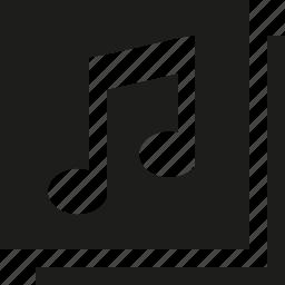music, nodes icon