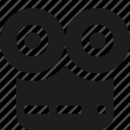 camera, old, video icon