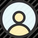 avatar, man, panel, person, profile, user icon