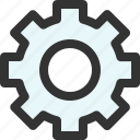 configuration, gear, preferences, repair, service, settings, system icon