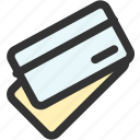 business, card, credit, currency, finance, marketing, payment icon