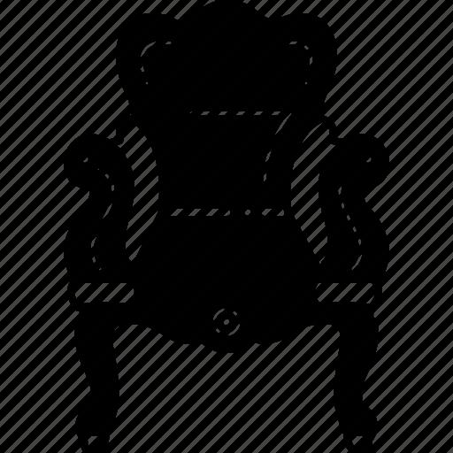 Ancient, antique, chair, pedestal icon - Download on Iconfinder