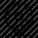border, food, logo, retro, round, shield, wood