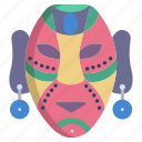 african, mask
