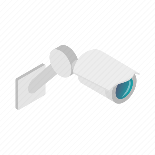 equipment, isometric, museum, private, protection, security, technology icon