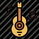 folk, guitar, music, orchestra
