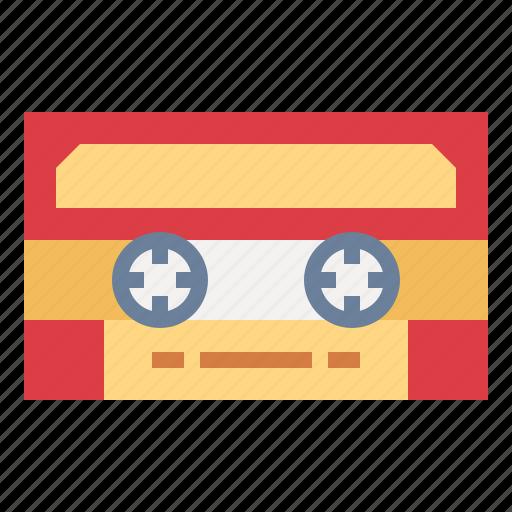 cassette, multimedia, music, tape icon