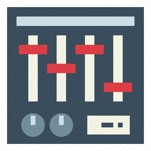 Equalizer, mixer, sound, technology icon - Download on Iconfinder