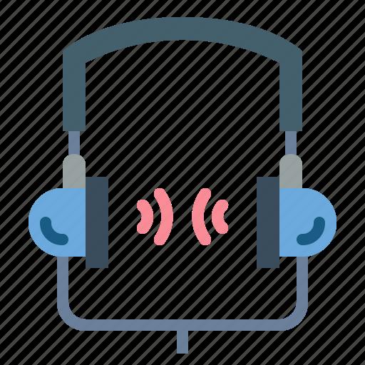 audio, headphone, sound, technology icon