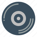 audio, disc, record, vinyl icon