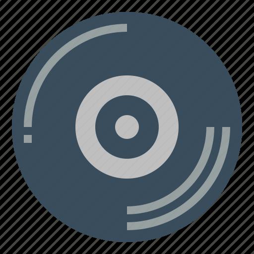 audio, disc, record, vinyl icon