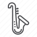 classical, instrument, music, saxophone, trumpet icon