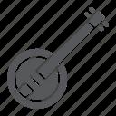 acoustic, banjo, country, folk, instrument, music, string