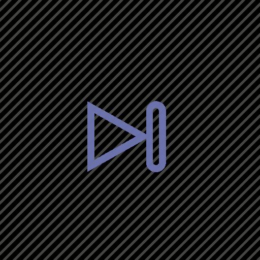 forward, music, next, play, playback, rewind icon