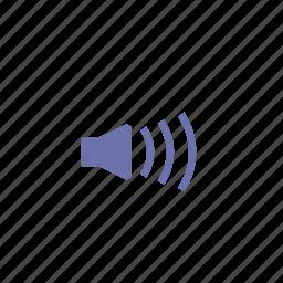 loud, more, music, speaker, volume icon