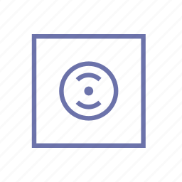 album, collection, disk, file, music, player, record library icon