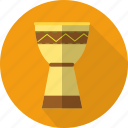 african, culture, djembe, ethnic, music, percussion icon