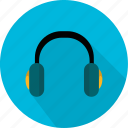 communication, headset, microphone, music icon