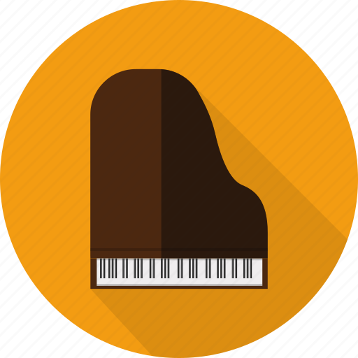 classical, concert, instrument, music, piano icon