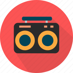 broadcast, fm, music, retro, tuner icon