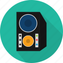 music, sound, speaker, stereo, system, volume icon