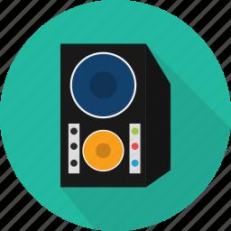 music, sound, speaker, stereo, system, volume icon