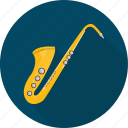 instrument, jazz, music, trumpet icon
