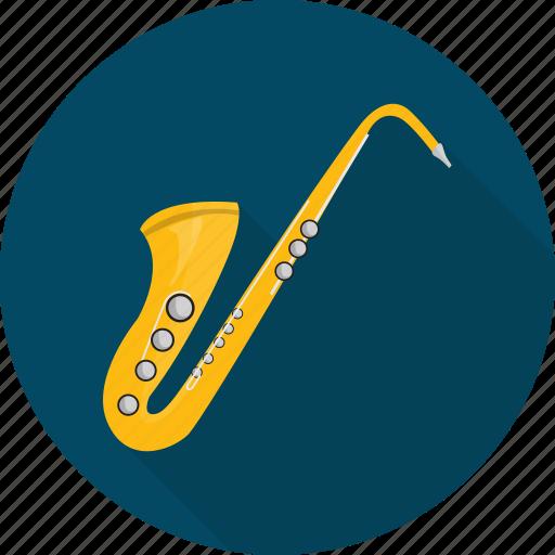instrument, jazz, music, trumpet icon