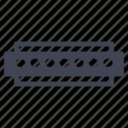 audio, harmonica, instrument, music, sound icon