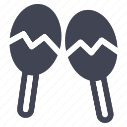 audio, instrument, maracas, music, sound icon