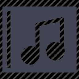 album, audio, entertainment, music, sound icon