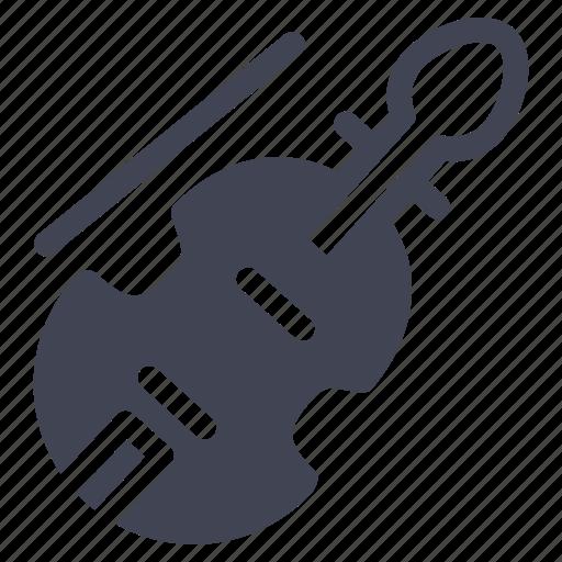 audio, instrument, music, sound, violin icon
