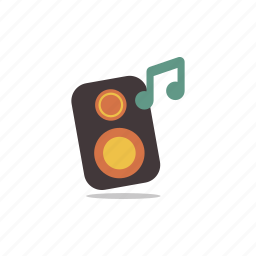 loud, music, party, sound, speaker, stereo icon