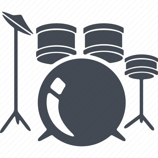 drummer, drums, music, musical instrument icon