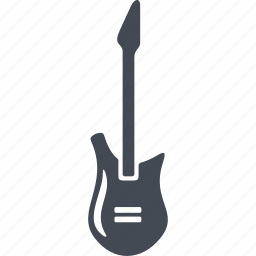 electric guitar, guitar, music, musical instrument icon
