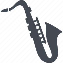 audio, music, musical instrument, saxophone, sound icon