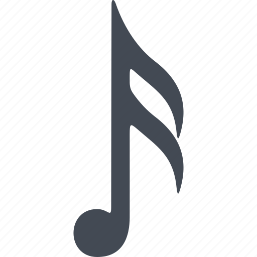 music, musical note, note, sound icon