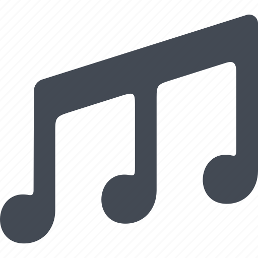 audio, music, notes, sound icon