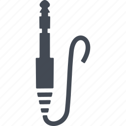 music, musical instrument, plug, socket icon