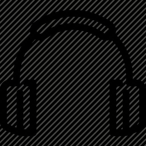 audio, headphones, listen, music, song icon