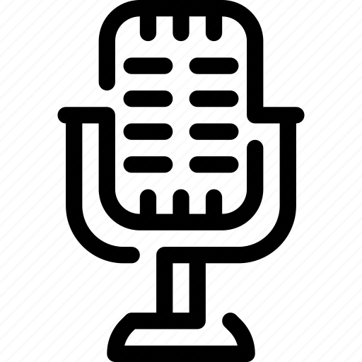 microphone, music, record, singer, song, sound, voice icon