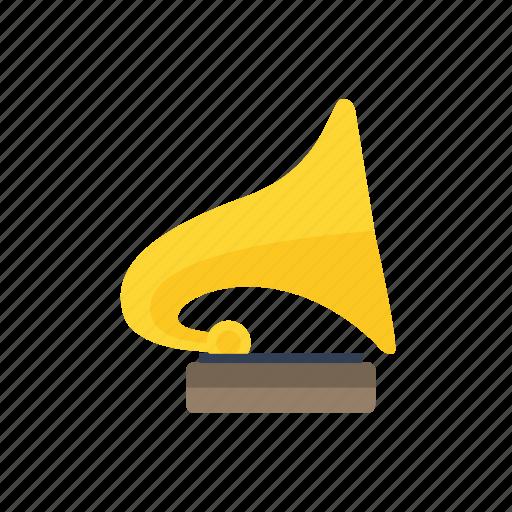 audio, gramophone, music, sound icon icon