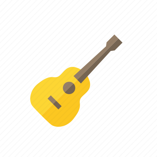 guitar, instrument, music, string icon icon