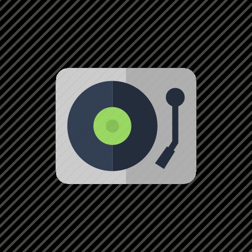 dj, turntable, vinyl icon icon