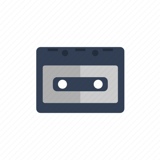 audio, cassette, film, music, video icon icon