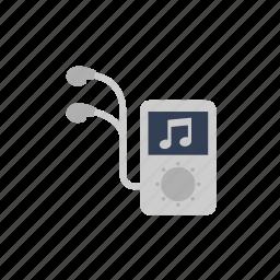ipod, mini, music, streamline icon icon