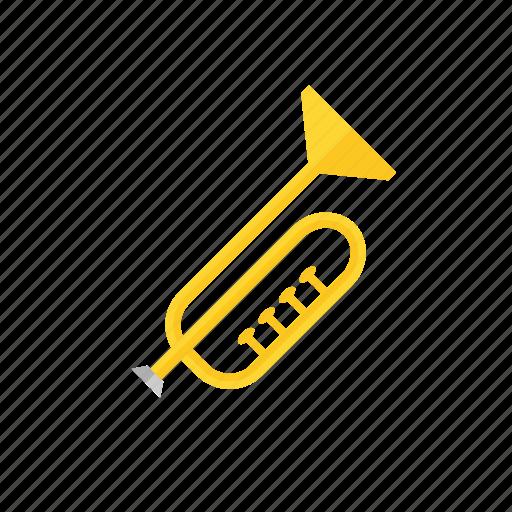horn, instrument, music, trumpet, tuba icon icon