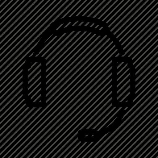 headphones, music, sound icon