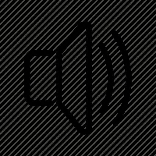 audio, music, sound, volume icon