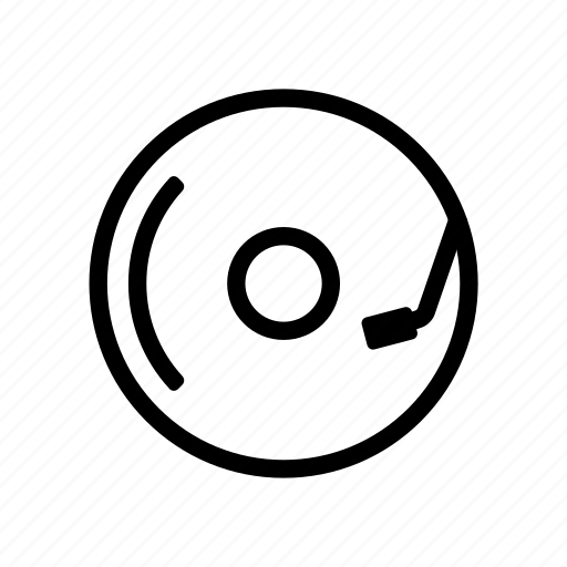 Dj, music, turntable icon - Download on Iconfinder